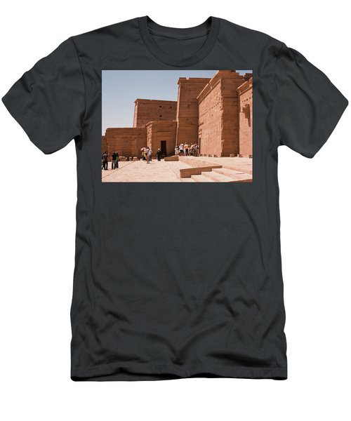 Temple Building Men's T-Shirt (Athletic Fit)