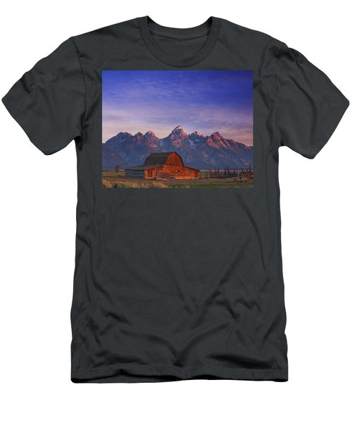 Teton Sunrise Men's T-Shirt (Athletic Fit)