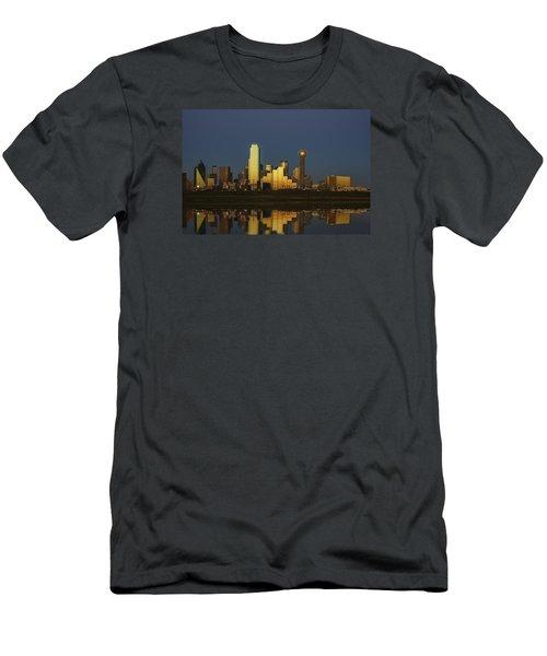 Texas Gold Men's T-Shirt (Slim Fit) by Rick Berk