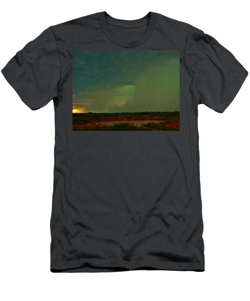 Men's T-Shirt (Slim Fit) featuring the photograph Texas Microburst by Ed Sweeney