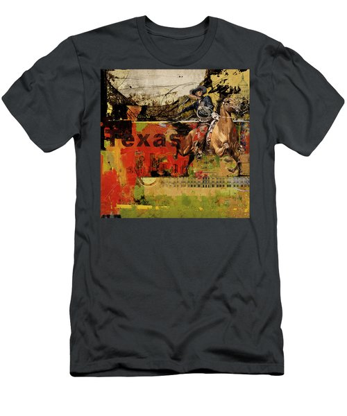 Texas Rodeo Men's T-Shirt (Athletic Fit)