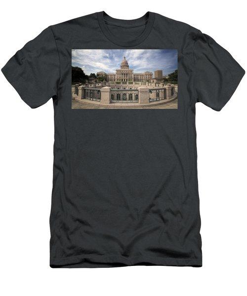 Texas State Capitol Iv Men's T-Shirt (Athletic Fit)