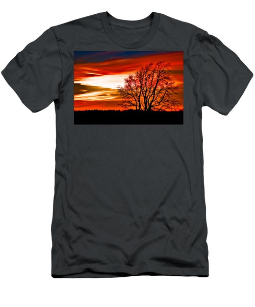 Texas Sunset Men's T-Shirt (Athletic Fit)