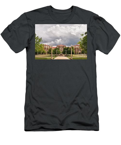 Men's T-Shirt (Athletic Fit) featuring the photograph School Of Education by Mae Wertz