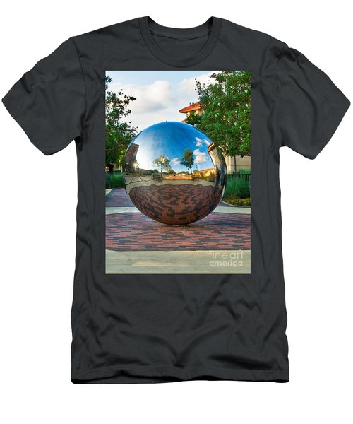 Men's T-Shirt (Athletic Fit) featuring the photograph Tech World by Mae Wertz