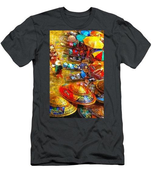 Thai Market Day Men's T-Shirt (Athletic Fit)