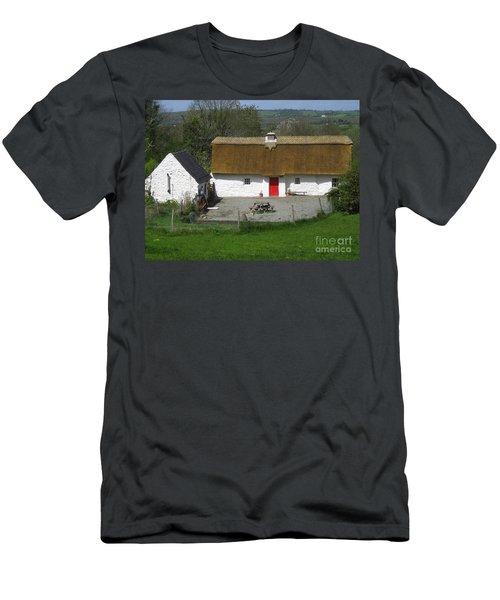 Thatched Cottage Men's T-Shirt (Athletic Fit)