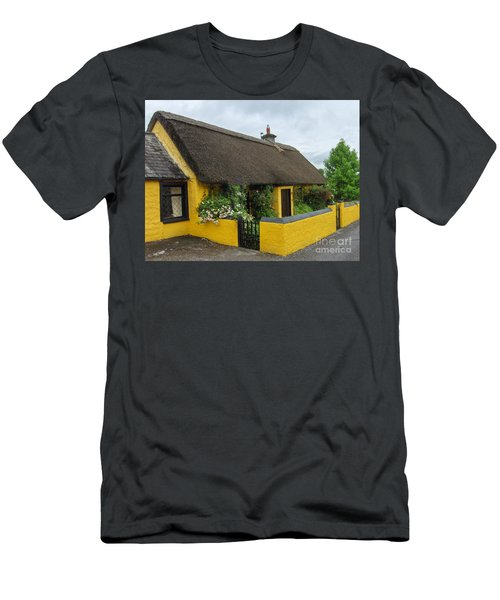 Thatched House Ireland Men's T-Shirt (Slim Fit) by Brenda Brown