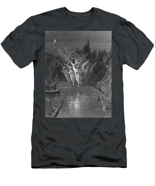 The Angelic Spirits Leave The Dead Bodies And Appear In Their Own Forms Of Light Men's T-Shirt (Athletic Fit)