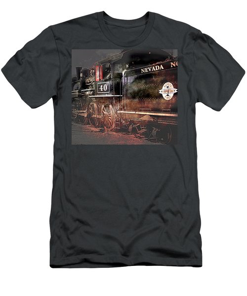 Men's T-Shirt (Athletic Fit) featuring the photograph The Baldwin by Gunter Nezhoda