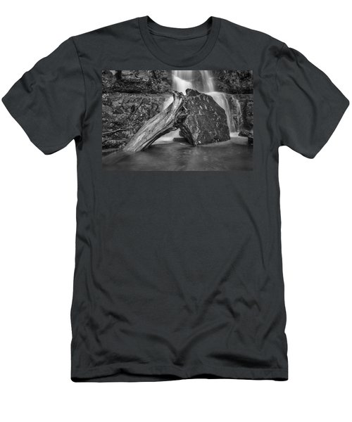 The Base Of The Falls Men's T-Shirt (Athletic Fit)