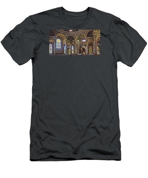 The Basilica Of St. Josaphat Men's T-Shirt (Athletic Fit)