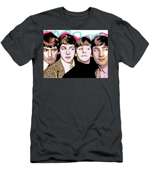 The Beatles Love Men's T-Shirt (Athletic Fit)