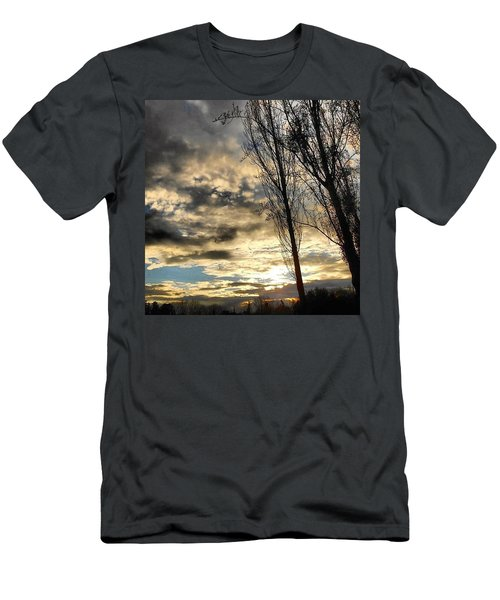 After The Rain... Men's T-Shirt (Athletic Fit)