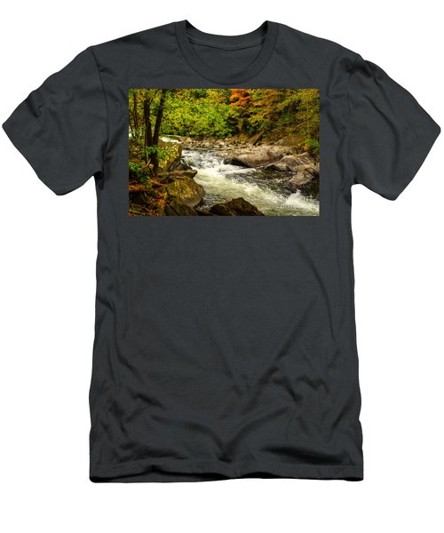 The Beauty Of Fall Men's T-Shirt (Athletic Fit)
