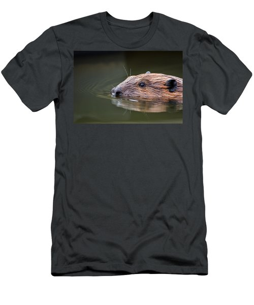 The Beaver Men's T-Shirt (Slim Fit) by Bill Wakeley
