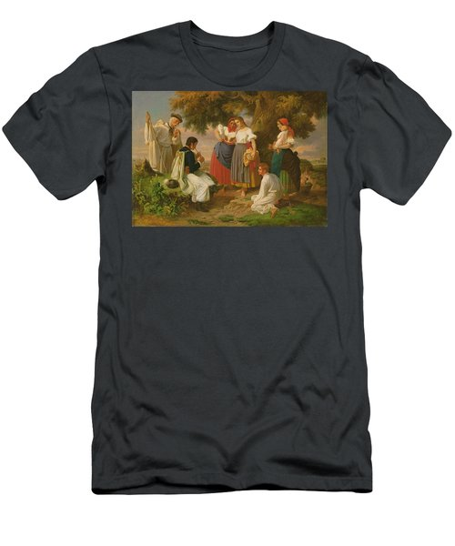 The Birth Of The Folk-song Men's T-Shirt (Athletic Fit)