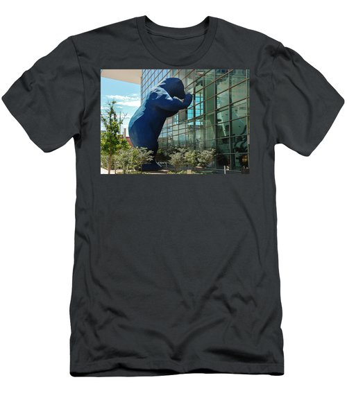 The Blue Bear  Men's T-Shirt (Athletic Fit)