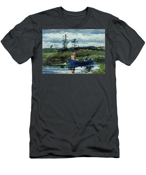 The Blue Boat Men's T-Shirt (Athletic Fit)