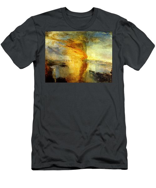 The Burning Of The Houses Of Lords And Commons Men's T-Shirt (Athletic Fit)