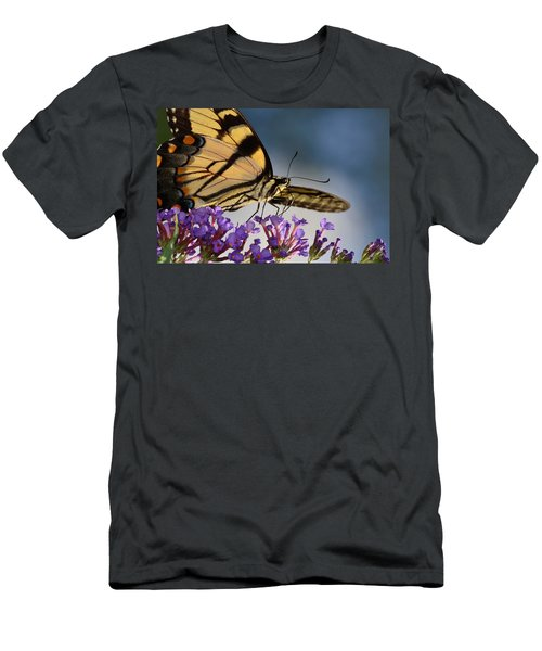 The Butterfly Men's T-Shirt (Slim Fit) by Lori Tambakis