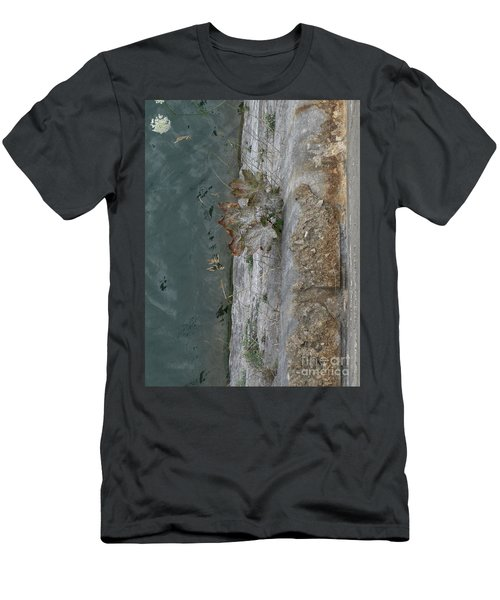 The Canal Water Men's T-Shirt (Slim Fit) by Brenda Brown