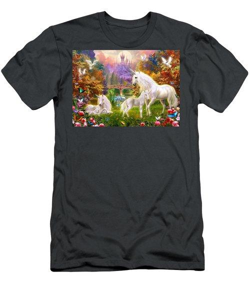 The Castle Unicorns Men's T-Shirt (Athletic Fit)