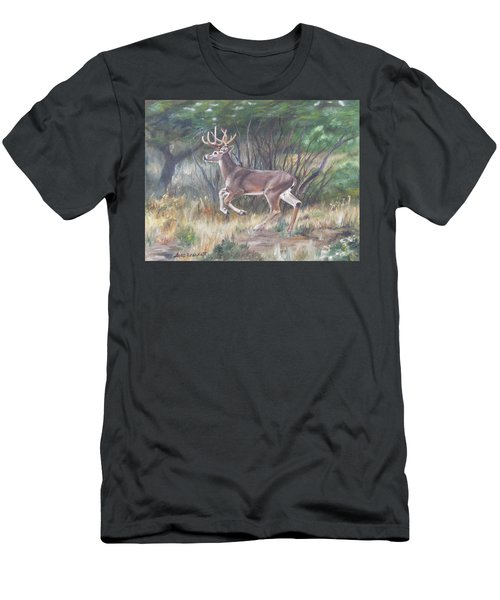 The Chase Is On Men's T-Shirt (Athletic Fit)