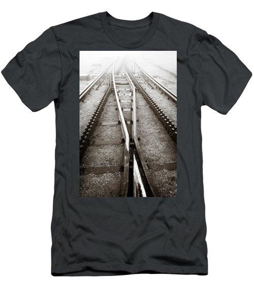 The Cog Railway Men's T-Shirt (Athletic Fit)
