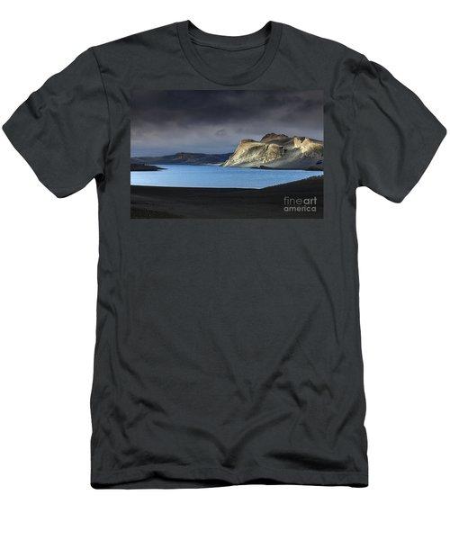 Men's T-Shirt (Slim Fit) featuring the photograph The Desert by Gunnar Orn Arnason