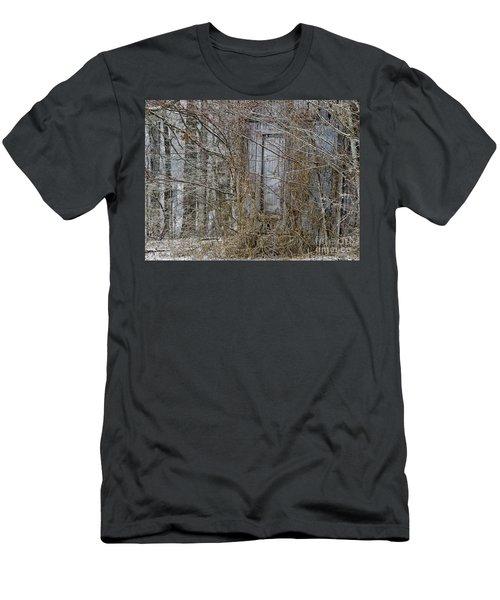 The Door To The Past Men's T-Shirt (Slim Fit) by Wilma  Birdwell