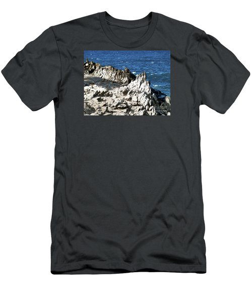 The Dragons Teeth I Men's T-Shirt (Slim Fit) by Patricia Griffin Brett