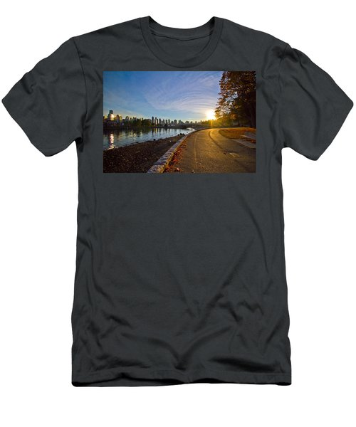 Men's T-Shirt (Slim Fit) featuring the photograph The Emerald City by Eti Reid