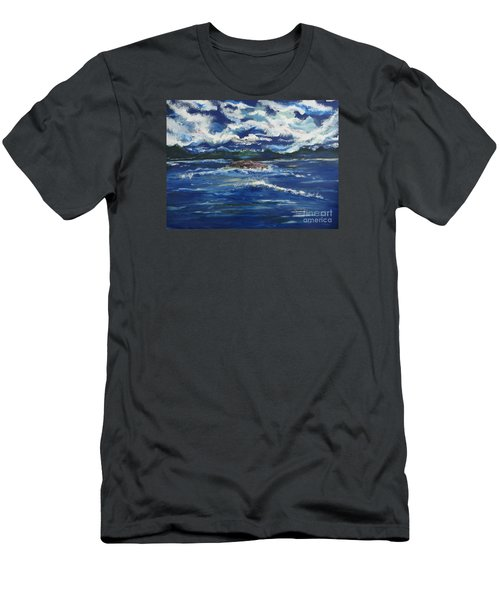 The Enchanting Sea  Men's T-Shirt (Slim Fit) by Lori  Lovetere