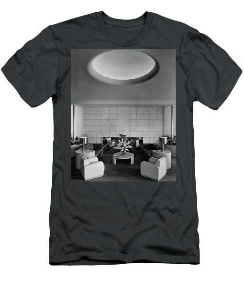 The Executive Lounge At The Ford Exposition Men's T-Shirt (Athletic Fit)