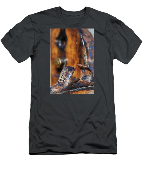 Men's T-Shirt (Slim Fit) featuring the photograph The Fairlead by Wendy Wilton