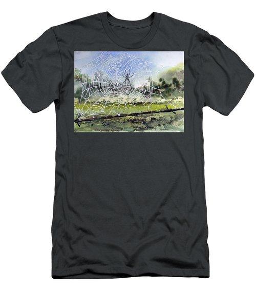 The Fence Builder Men's T-Shirt (Athletic Fit)