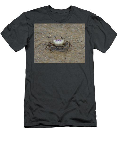 The Fiddler Crab On Hilton Head Island Men's T-Shirt (Athletic Fit)