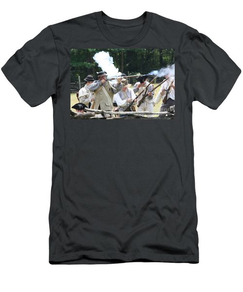 The Fight For Freedom Men's T-Shirt (Athletic Fit)