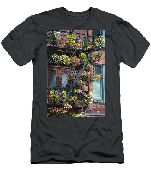 The Fire Escape Men's T-Shirt (Athletic Fit)