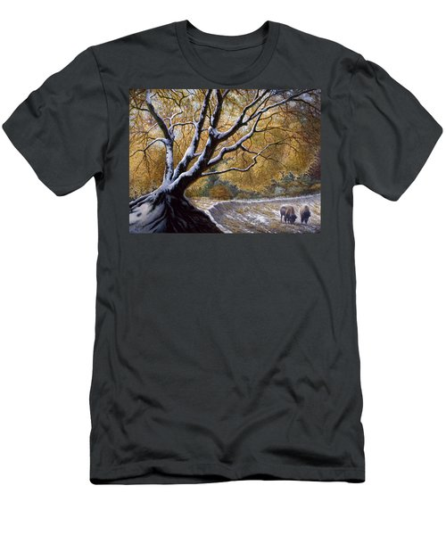 The First Snow Idaho Men's T-Shirt (Athletic Fit)