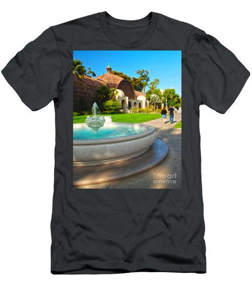 Botanical Building And Fountain At Balboa Park Men's T-Shirt (Athletic Fit)