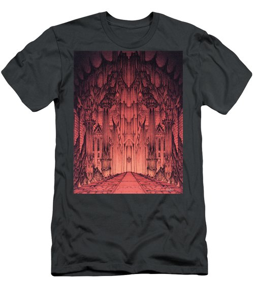 The Gates Of Barad Dur Men's T-Shirt (Athletic Fit)