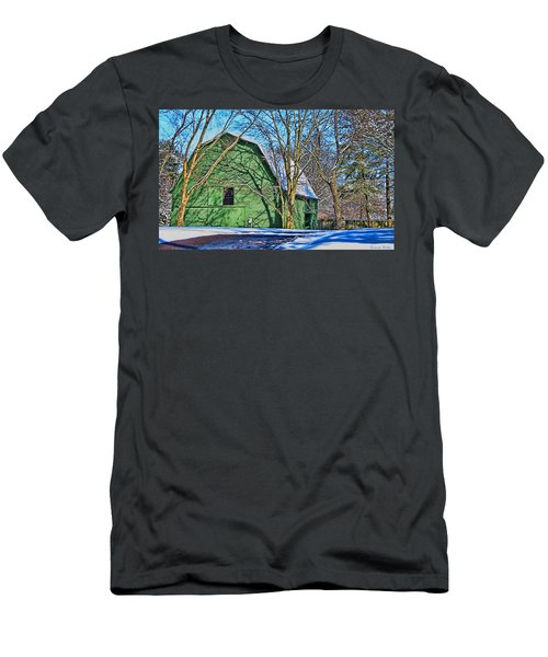 The Green Barn Men's T-Shirt (Athletic Fit)