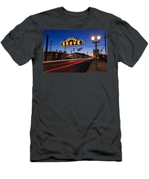 The Grove In Twilight Men's T-Shirt (Athletic Fit)