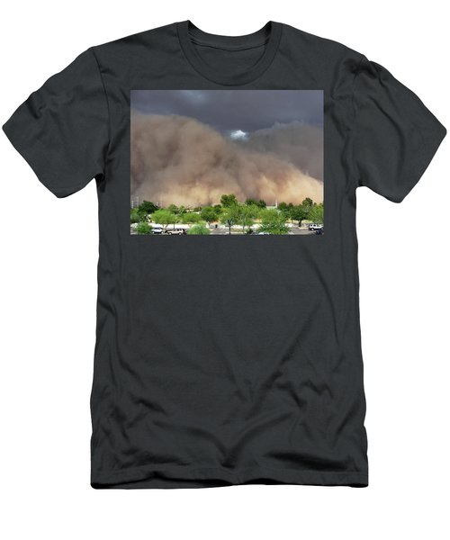 The Haboob Is Coming Men's T-Shirt (Athletic Fit)