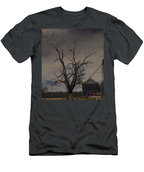 The Haunting Tree Men's T-Shirt (Slim Fit) by Alys Caviness-Gober