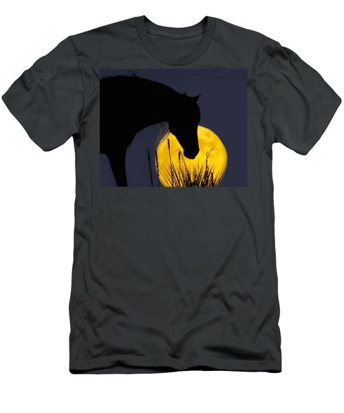 The Horse In The Moon Men's T-Shirt (Athletic Fit)