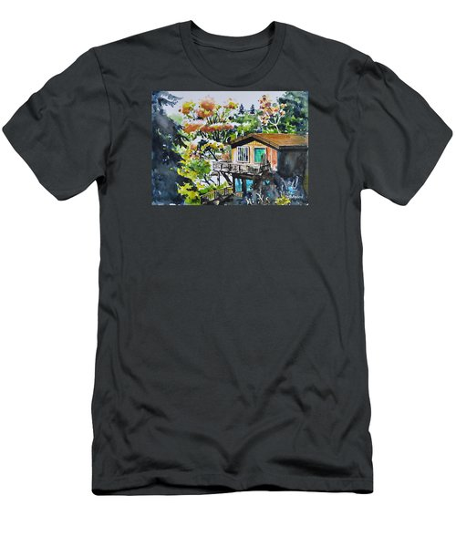 The House Hiding In The Bushes Men's T-Shirt (Athletic Fit)