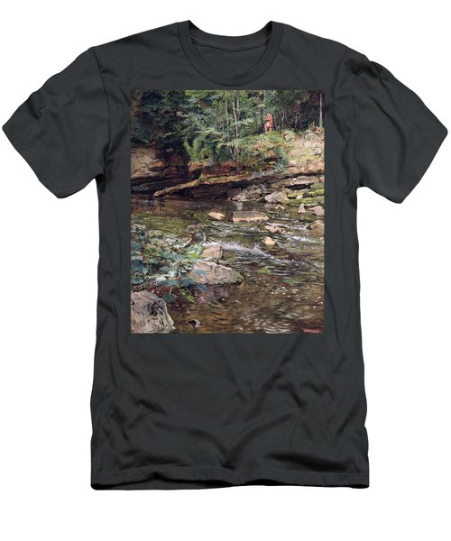 The Kelpie And The Highlander Men's T-Shirt (Athletic Fit)